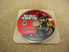Red Dead Redemption (Sony PlayStation 3, 2010) DISC ONLY