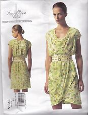 Vogue Tracy Reese Sewing Pattern Misses' Partially Bias Dress 8 - 24 V1343