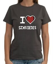 I love Schroeder Women T-shirt