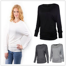 Sexy Womens Winter Long Sleeve Bottoming Ladies T-shirt casual Blouse Tops D7966