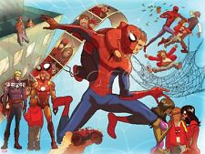 Marvel The Amazing Spider-Man No. 692: Rogers, Steve, Iron Man, Spider-M… Poster