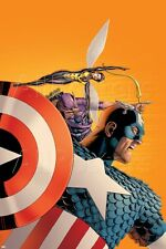 Marvel Avengers No.77 Cover: Captain America, Wasp, Hawkeye and Avengers Poster