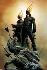 Marvel Ghost Riders: Heavens On Fire No.1 Cover: Ghost Rider Poster
