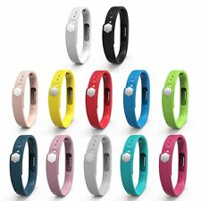 12-Pack S/L Colorful Silicone Classic Accessory Wristband Band for Fitbit Flex 2
