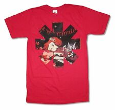 Red Hot Chili Peppers One Hot Minute Album Cover Image Red T Shirt New RHCP