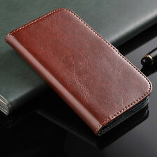 Glossy Leather Case For Samsung Galaxy Grand Duos I9082 Flip Wallet Cover Skin