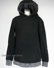 NEW LULULEMON Runaway Fleece Pullover Hoodie Sz 4 Black Coco Pique NWT FREE SHIP