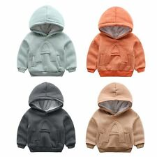 Newborn Toddler Kids Baby Boys Winter coat Thicken Hooded Outerwear warm clothes