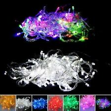 100 LED Bulbs Festival Tree Fairy Party String Lights Waterproof Xmas Decor 10M