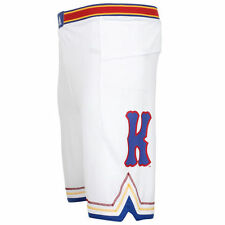 Kansas Jayhawks adidas Point Guard Basketball Shorts - White - NCAA