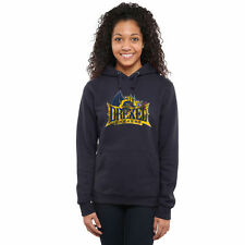 Drexel Dragons Womens Classic Primary Pullover Hoodie - Navy Blue - NCAA