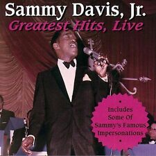 Greatest Hits Live by Sammy Davis, Jr. (CD, Aug-1995, Curb)