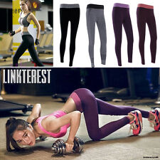 2017 Womens Yoga Running Sport Fitness Pants Gym Workout Athletic Leggings S335