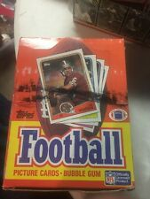 1988 Topps Unopened Football Box BEAUTY