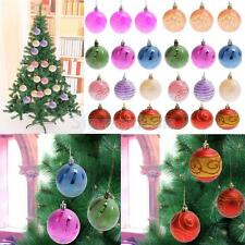 6pcs/set Christmas Tree Decorations Xmas Balls Baubles Party Wedding Ornament