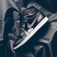 NIKE AIR JORDAN 1 RETRO PATENT BLACK Sz 8 9 10 11 12 13 14 15 16 SPACE JAM 2016