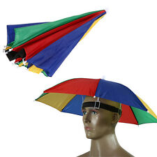 Umbrella Hat Sun Shade Camping Fishing Hiking Outdoor Foldable Headwear FF