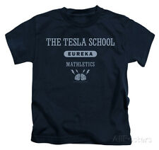 Juvenile: Eureka - Tesla School Apparel Kids T-Shirt - Navy