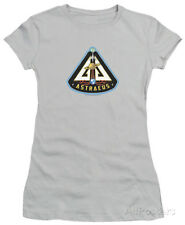Juniors: Eureka - Astraeus Mission Patch Juniors (Slim) T-Shirt - Silver