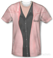 Grease - Rizzo Pink Ladies Apparel T-Shirt - Sublimate White