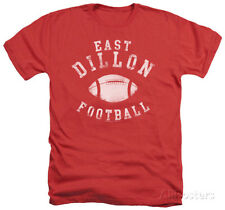 Friday Night Lights - East Dillon Football Apparel T-Shirt - Red Heather