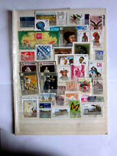 World wide collection...album page with used stamps......fine...nice