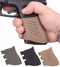 Tactical Rubber Grip Glove for Glock 17 19 20 21 22 23 25 31 32 34 35 37 BK/DE