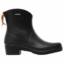 Aigle Miss Juliette Bottillon Black Womens Boots