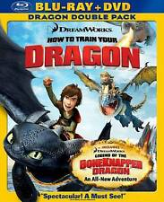 How to Train Your Dragon/Legend of the Boneknapper Dragon (Blu-ray/DVD, 2010, 2…