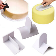 Cake Decorating edge Smoother Paddle Tool Sugarcraft Icing Fondant Polisher mx