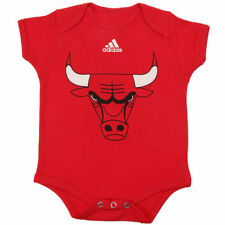 Chicago Bulls adidas Infant Primary Logo Bodysuit - Red - NBA