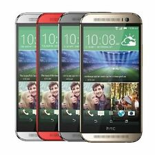 "5 Colors! HTC One M8 Unlocked 5"" 4G LTE Quad-core Dual 4 MP Smart Phone 32GB"