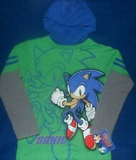 Sonic The Hedgehog Pullover Hoodie shirt Size 5 6 7 New Childs