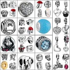 2017 New Brand Jewelry 925 Silver Charms For Sterling Bead Bracelet Necklace Diy