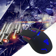 Z3 Gaming Mouse LED Colorful Breathing Light USB Wired Optical 3200 DPI DSO