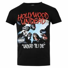 Official Mens Hollywood Undead T Shirt Cotton Casual Short Sleeve Crew Neck Tee