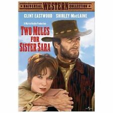 NEW SEALED Two Mules for Sister Sara (DVD, 2003) Clint Eastwood NEW Region 1