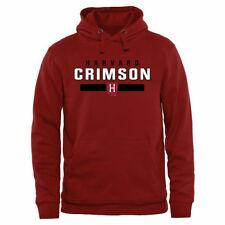 Harvard Crimson Team Strong Pullover Hoodie - Crimson - NCAA