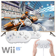 2-Pack Pro Classic Joypad Wired Game Controller For Nintendo Wii/Wii U Remote