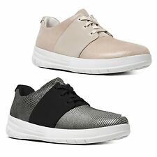 FitFlop™ SPORTY-POP X LIZARD™ Ladies Womens Suede Lace Up Comfort Trainers
