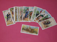 Players Cycling John Player 1939 cigarette cards Sociable Tricycle Rover bicycle