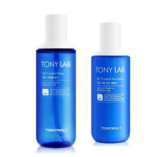 Tonymoly Tony Lab AC Control Toner 180ml / 6.08oz , Emulsion 160ml / 5.41oz