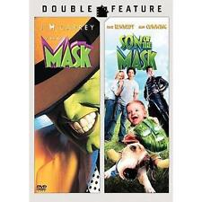 THE MASK / SON OF THE MASK Double Feature DVD Jim Carrey