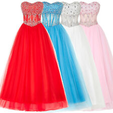 Sale Quinceanera Ball Gowns Evening Formal Long Prom Party Bridal Wedding Dress