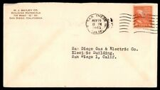 San Diego California May 16 1945 Single Franked Ad Cover To San Diego 1