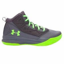 Under Armour Kids Boys Jet Mid Juniors Basketball Trainers Hi Top Sports Shoes