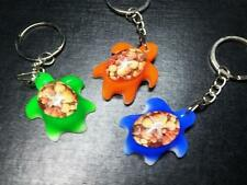 3pc  lots  free shipping real sea star mix turtle style new key-chains