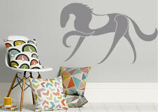 Animal Wall Stickers Abstract Horse Silhouette Vinyl Decal 15 Colours 01435