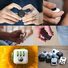 DICE FIDGET CUBE DESK TOY STRESS ANXIETY RELIEF CHRISTMAS STOCKING ADULT KID 23