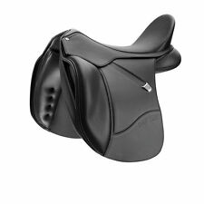 Bates Isabell Dressage Saddle CAIR - Black - Various Sizes - CLEARANCE